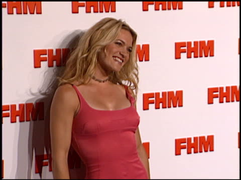 Victoria Pratt at the FHM Magazine 100 Sexiest Women at La Boheme in West Hollywood California on May 17 2001