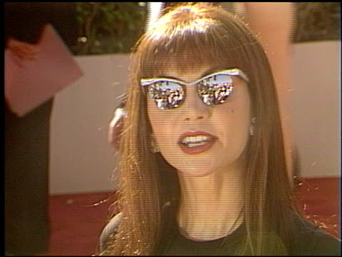 victoria principal at the 1993 emmy awards entrances at the pasadena civic auditorium in pasadena california on september 19 1993 - pasadena civic auditorium stock videos & royalty-free footage