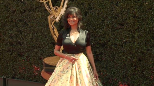 Victoria Rowell at the 2018 Daytime Emmy Awards at Pasadena Civic Auditorium on April 29 2018 in Pasadena California