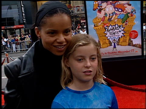 Victoria Rowell at the 'Rugrats in Paris' Premiere at Grauman's Chinese Theatre in Hollywood California on November 5 2000