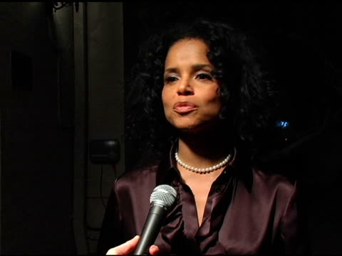 victoria rowell on how she became involved on being a foster child on the purpose the vagina monologues serves at the 'vagina monologues' play and... - ウィルシアーエベル劇場点の映像素材/bロール