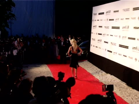 vídeos y material grabado en eventos de stock de victoria silvstedt at the amfar 'cinema against aids' gala presented by miramax films palisades pictures and quintessentially arrivals at mougins - miramax