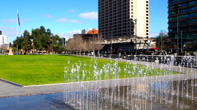 victoria square - adelaide, australia - lockdown stock videos & royalty-free footage