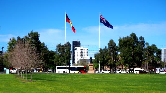 ビクトリアスクエア - アデレード、オーストラリア - アデレード点の映像素材/bロール