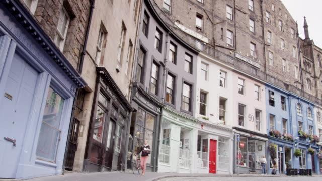 Victoria Street, Edinburgh, Scotland.