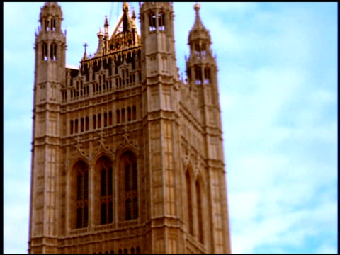 Victoria Tower at Houses of Parliament, London