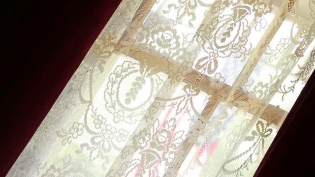 vídeos y material grabado en eventos de stock de victorian cortinas oscurecedoras (black out - fundido en negro