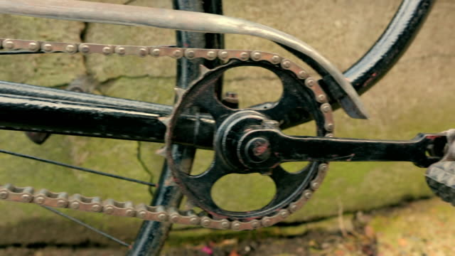 victorian era safety bicycle - fade in video transition stock videos & royalty-free footage