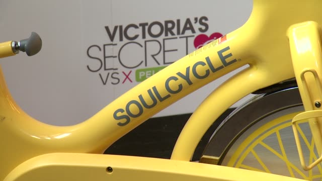 clean victoria's secret 3rd annual supermodel cycle at soulcycle west village on july 10 2013 in new york new york - supermodel stock videos and b-roll footage