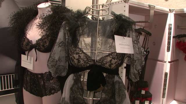 victoria's secret store at the victoria's secret angels ribbon cutting ceremony for nyc flagship store at new york ny. - store opening stock videos & royalty-free footage