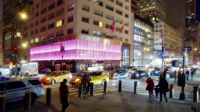 victoria's secret. store. fifth luxury fashion avenue. manhattan. new york - retail stock videos & royalty-free footage