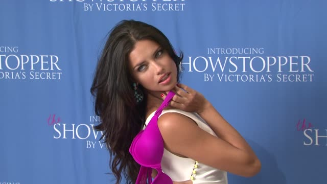 Victoria's Secret Supermodel Adriana Lima Introduces The Showstopper by Victoria's Secret New York NY United States