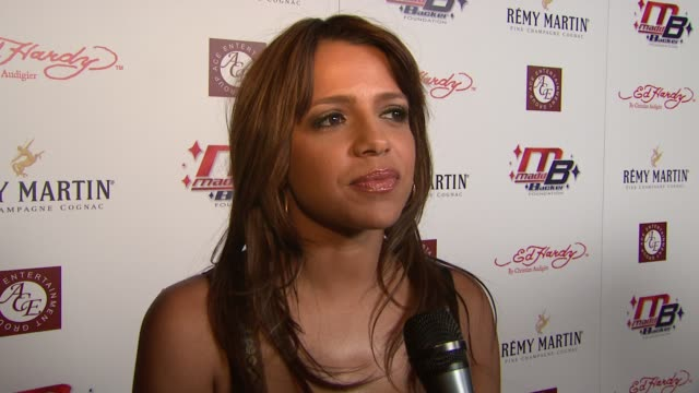 Vida Guerra on hosting the party on her music career and her new myspace profile at the Kiss and Tell Party at Playboy Mansion in Los Angeles...