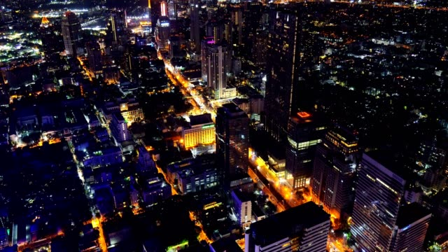 4k video: aerial view of cityscape urban architecture from point of view. - day and night image series stock videos & royalty-free footage