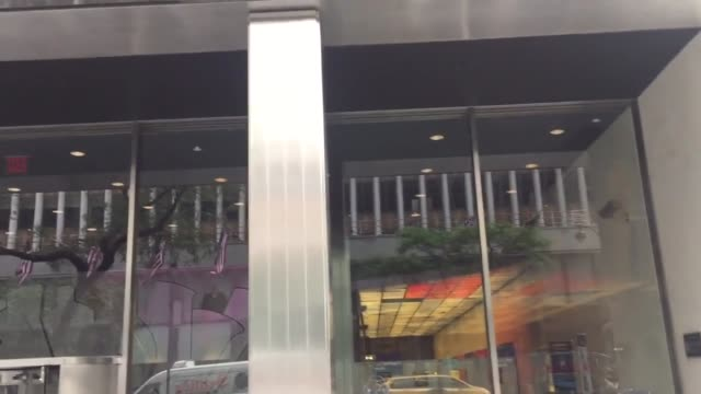 video and pan of pfizer hq west 42nd street ny - 42nd street stock videos & royalty-free footage