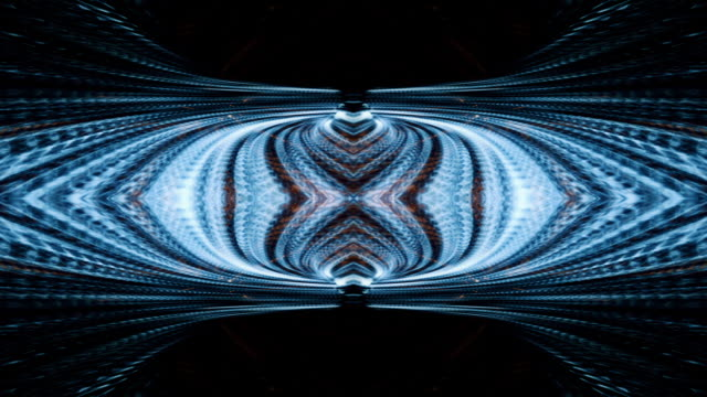 video background 2410: a futuristic kaleidoscope of digital light - mandala stock videos & royalty-free footage