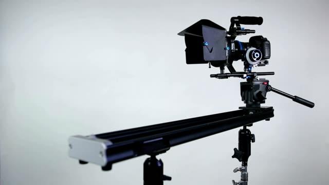 vidéos et rushes de caméra vidéo curseur-canon dslr - télévision haute définition