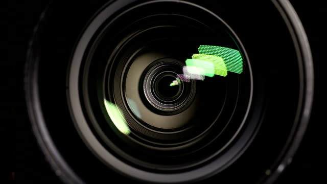 video camera - using the zoom - photographic equipment stock videos & royalty-free footage