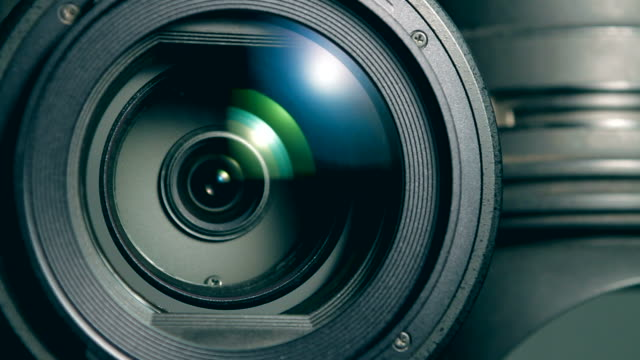 video camera zoom - photographic equipment stock videos & royalty-free footage