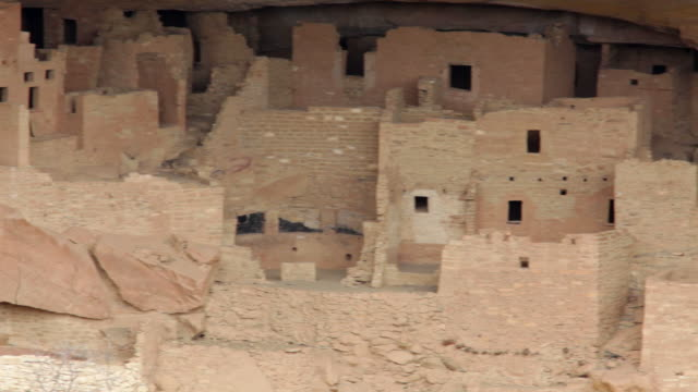 HD video Cliff Palace ruins in Mesa Verde NP Colorado