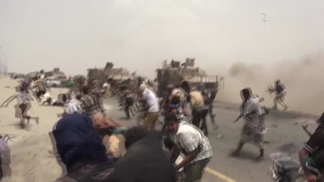 a video compilation shot by nabil hasan alquaety a yemeni journalist who contributed to afp - yemen stock videos & royalty-free footage