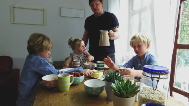 4K Video - Day in the Life of a Family