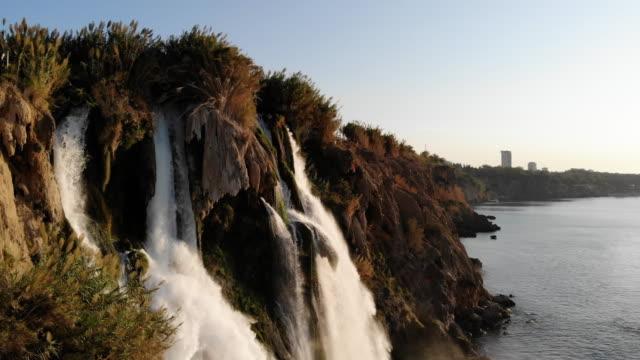 4K Video Duden Waterfalls Antalya, Turkey