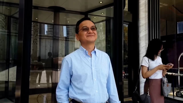 video footage taken in august and early september in guangzhou china shows james peng cofounder and ceo of autonomous driving firm ponyai... - autonomous technology stock videos & royalty-free footage