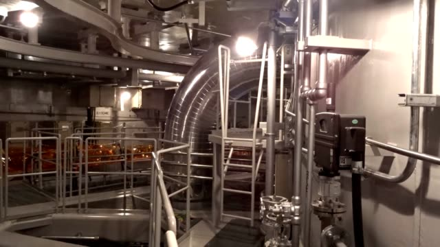 video footage taken in matsue, shimane prefecture, shows the interior of the no. 3 reactor of the shimane nuclear power plant that chugoku electric... - nuclear reactor stock videos & royalty-free footage