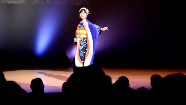 video footage taken in tokamachi, niigata prefecture, on nov. 23 shows local female residents modeling kimonos themed on countries and regions... - participant stock videos & royalty-free footage