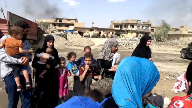 Video footage taken on July 2 shows the old quarter of Mosul a city in northern Iraq after Islamic State forces destroyed much of the historic...
