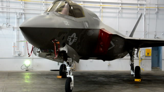 video footage taken on sept. 9 at u.s. misawa air base in misawa, aomori prefecture, shows a pair of lockheed martin f-35b lightning ii stealth... - guam stock videos & royalty-free footage
