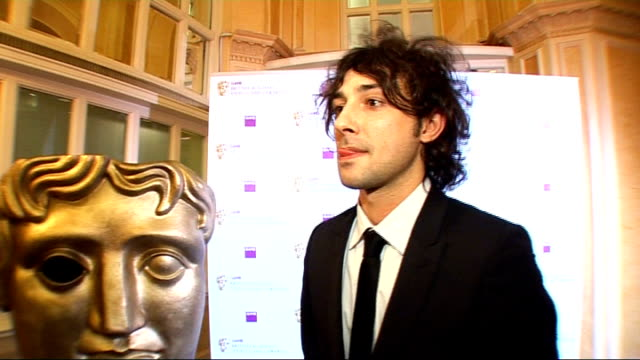 video game awards: arrivals; alex zane interview sot - on being a fan of gaming - television game show stock videos & royalty-free footage