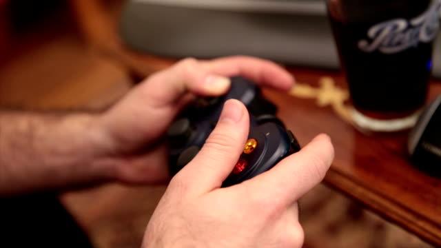 video game - gamepad stock videos & royalty-free footage