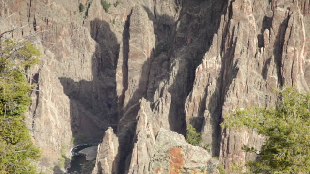 hd video gunnison river and black canyon np colorado - schist stock videos and b-roll footage