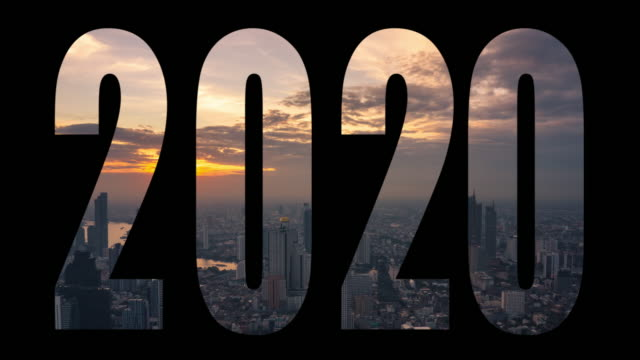 4k video: happy new year 2020 - 2020 stock videos & royalty-free footage
