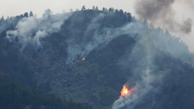 vídeos de stock, filmes e b-roll de vídeo em full hd de alta park fogo fort collins, colorado - 2012