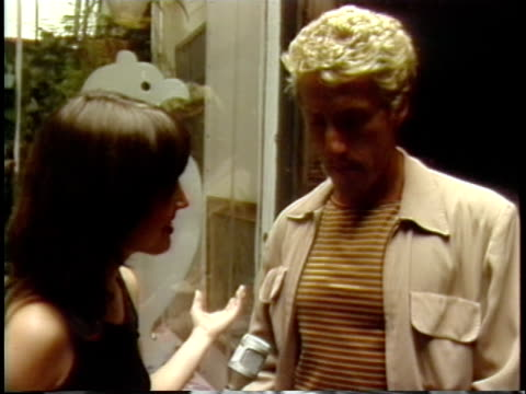MTV video jockey Martha Quinn interviewing Roger Daltrey / Cincinnatti Ohio United States / AUDIO