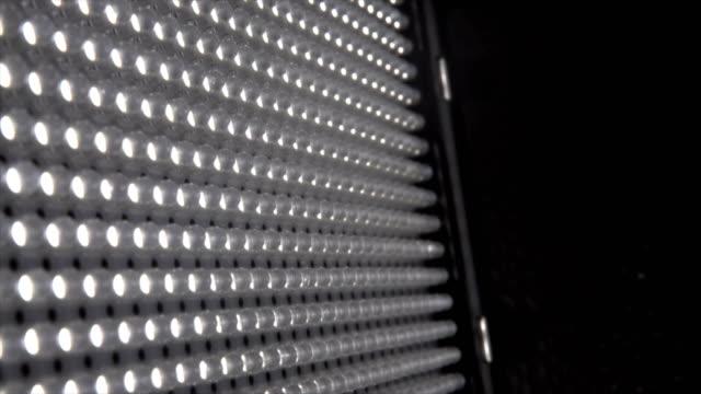 video led light - film set stock videos & royalty-free footage