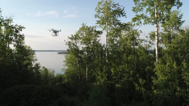 video of a drone flying an autonomous mission - propeller stock videos & royalty-free footage