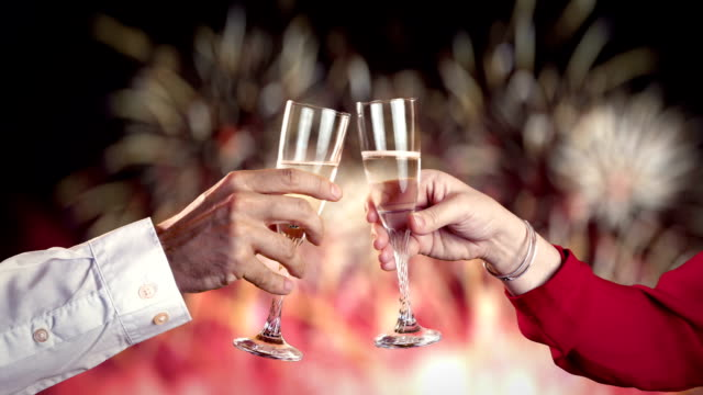 video of celebration time - celebratory toast stock videos & royalty-free footage