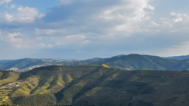Video of Douro valley at sunset