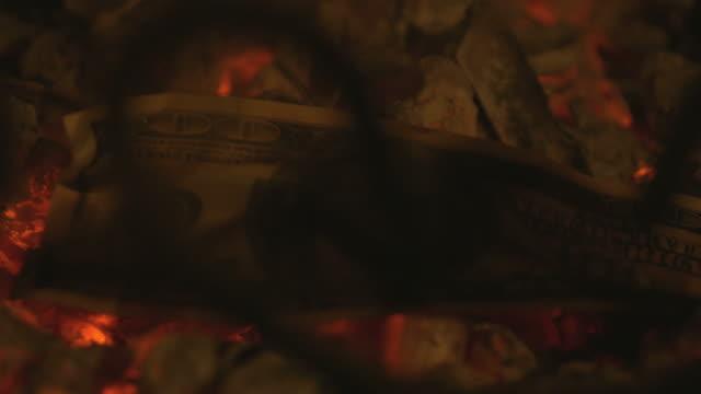 Video of embers in 4K