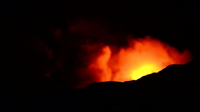 Video von Fire Ausbruch Vulkane Nationalpark Hawaii
