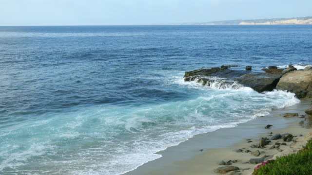 Video of La Jolla cove in San Diego, California in 4K