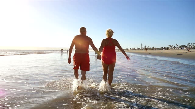 video of lovely senior couple in slow motion - anniversary stock videos & royalty-free footage