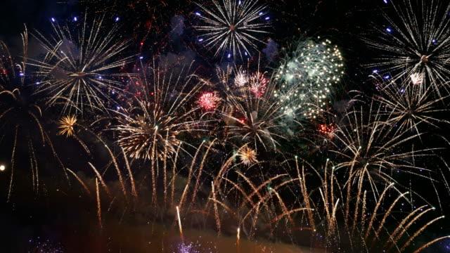 Video von Silvester-Feuerwerk in 4K