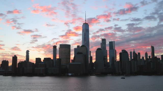 Vidéo 4K de New York City de Lower Manhattan au lever du soleil