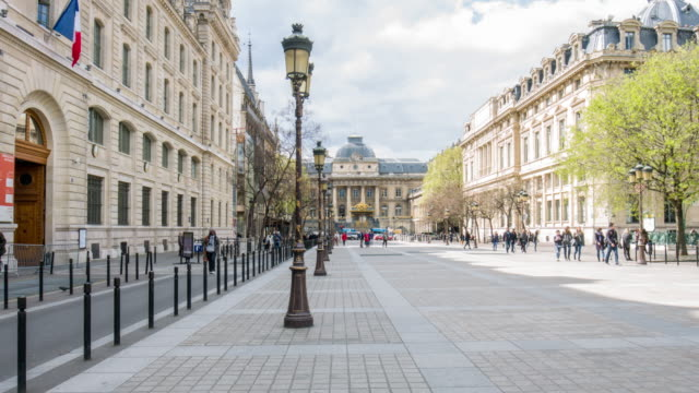 video of paris - palais de justice - legislation stock videos & royalty-free footage