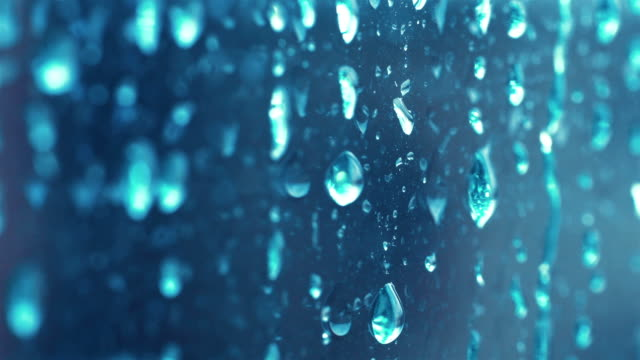 video of rain drops on the window in 4k - bead stock videos & royalty-free footage